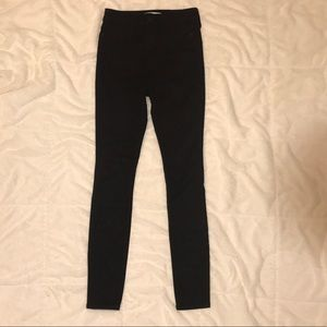 Amercrombie and Fitch High Riss Slim Jeans Black